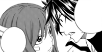 Gray confronts Erza