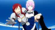 Virgo carrying Erza