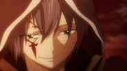 Jellal's smile towards Erza