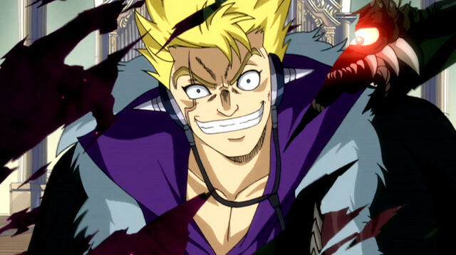 File:Laxus breaks Mystogan's spell.jpg