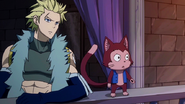Sting and Lector watch the explosion