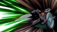 Dan fires his Harabaki