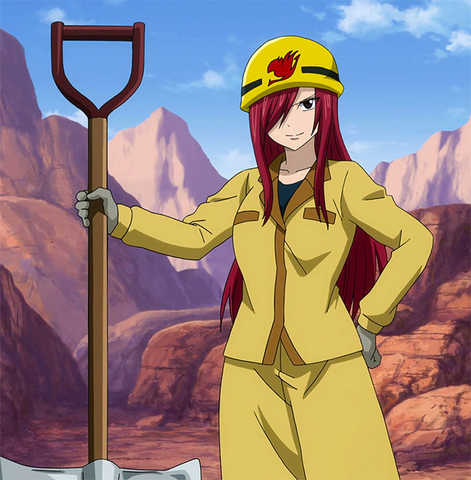 File:Erza on her job.png
