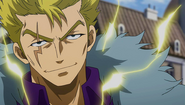 Laxus readies to face Orga