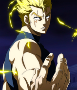 Laxus ready to face Raven Tail