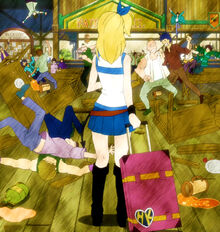 Fairy Tail Guild at first seen by Lucy.jpg