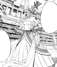 Lucy rips off her Royal Dress
