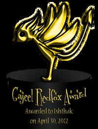 Gajeel Redfox Award 1