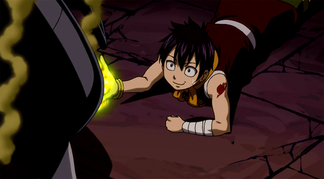 File:Romeo uses his Yellow Flame to save Lucy.png