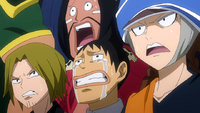 Fairy Tail watches the final battle