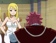 Ashley asking Natsu