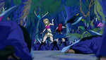 Lucy, Erza & Happy vs Deliora Survivors.png
