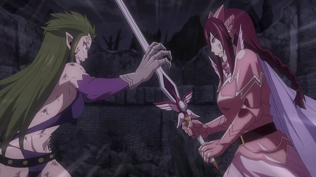 File:Erza and Kyôka battle once more.png