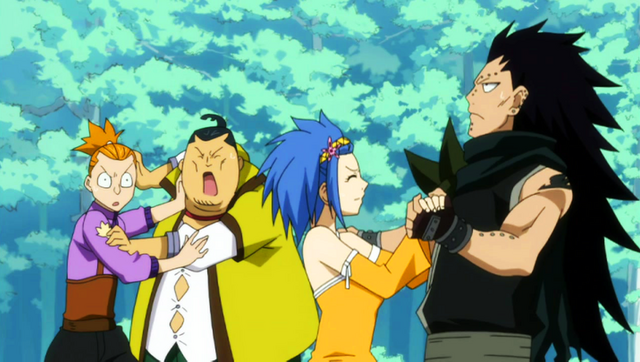 File:Gajeel and Levy dancing.png
