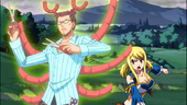 Lucy summoning Cancer