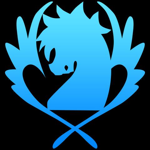 File:Blue pegasus symbol.png