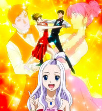 Mirajane explaining social dance