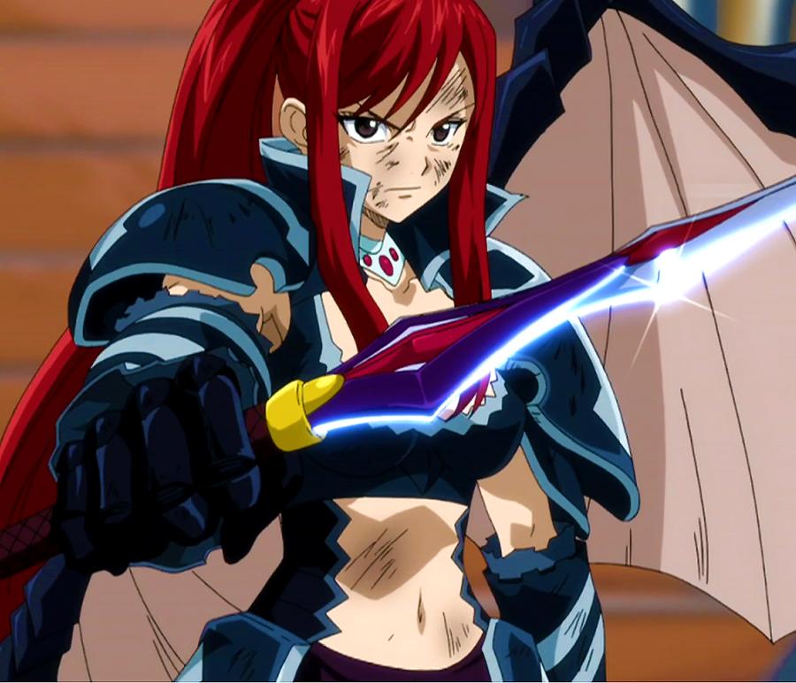 Black Wing Armor Fairy Tail Wiki Fandom Powered By Wikia