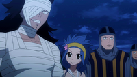 Gajeel and Levy ready for battle