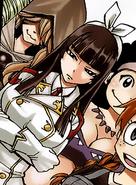 Kagura alongside her guild