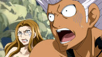 Team Elfman's reaction when Mira appears