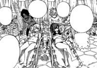 Trimen Hitting on Erza and Lucy In RZL