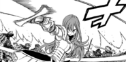Erza taking care of Avatar remnants