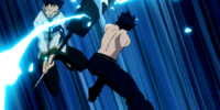 Gray Fullbuster vs. Vanish Brothers