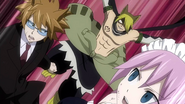 Jackal ambushes Loke and Virgo