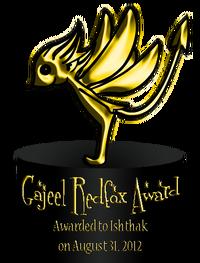 Gajeel Redfox Award 2