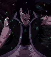 Gajeel after defeating Torafuzar