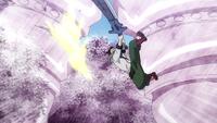Hiroshi damages a giant