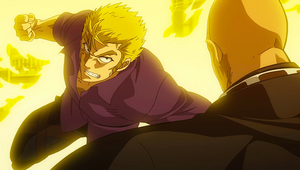 Laxus charges at Jura