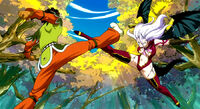 Mira fights Azuma.jpg