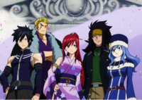 Team Fairy Tail on the Last Day of the Tournament