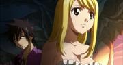 Gray tells Lucy to trust Loke