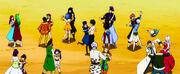 Fairy Tail practising social dance-1-