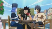 Gajeel-in-juvias-date-with-gray