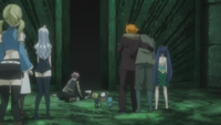 The Group Watches Future Lucy Collapse