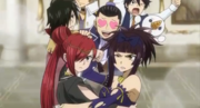 The guilds fight over Yukino