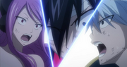 Meredy and lyon socked by gray beeing shot