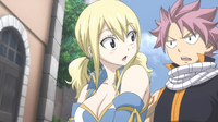 Natsu has No Problem with Kissing Lucy