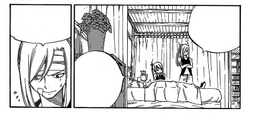 Freed is worried about Laxus