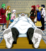Elfman After His Fight with Bacchus