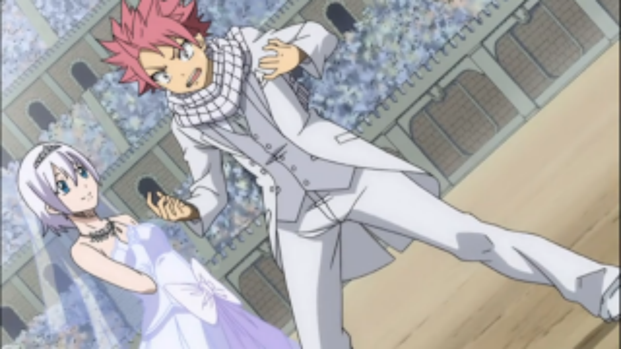 Image Natsu And Lisanna In Wedding Clothes Png Fairy
