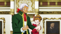 Elfman and Evergreen Dancing at the Great Banquet