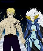 Mirajane satan soul sitri x laxus thunder dragon by juviaaa-d58wu3m