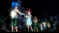 Young Jellal and Erza 2