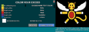 Exceed Customize Interface