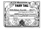 Abbas Guild Card English